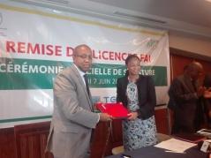 Signature convention GVA Togo